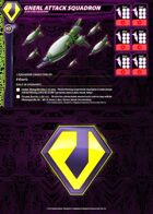 Zentraedi Gnerl Attack Squadron Card for Robotech® RPG Tactics™