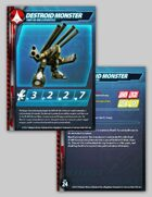 UEDF Destroid Monster Stat Card for Robotech® RPG Tactics™