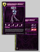 Zentraedi Serauhaug-Regult Heavy Artillery Battlepod Stat Card for Robotech® RPG Tactics™