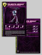 Zentraedi Telnesta-Regult Variant Battlepod Stat Card for Robotech® RPG Tactics™