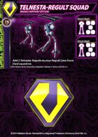 Zentraedi Telnesta-Regult Squad Support Card for Robotech® RPG Tactics™