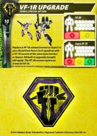 Malcontents VF-1R Upgrade Support Card for Robotech® RPG Tactics™