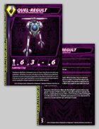 Zentraedi Quel-Regult Reconnaissance Pod Stat Card for Robotech® RPG Tactics™