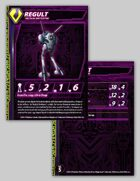 Zentraedi Regult Tactical Battlepod Stat Card for Robotech® RPG Tactics™