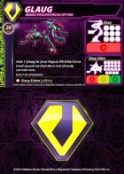 Zentraedi Glaug Support Card for Robotech® RPG Tactics™