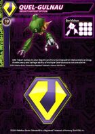 Zentraedi Quel-Gulnau Support Card for Robotech® RPG Tactics™