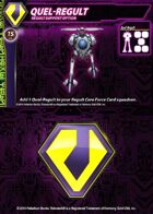 Zentraedi Quel-Regult Support Card for Robotech® RPG Tactics™