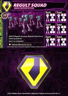 Zentraedi Regult Squad Support Card for Robotech® RPG Tactics™