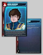 UEDF Ben Dixon Character Card for Robotech® RPG Tactics™