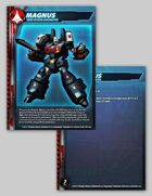 UEDF Magnus Character Card for Robotech® RPG Tactics™