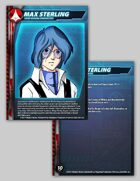 UEDF Max Sterling Character Card for Robotech® RPG Tactics™