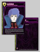 Zentraedi Azonia Character Card for Robotech® RPG Tactics™
