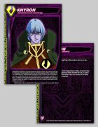 Zentraedi Khyron Character Card for Robotech® RPG Tactics™