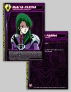 Zentraedi Miriya-Parina Character Card for Robotech® RPG Tactics™