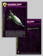 Zentraedi Sulreen-Tehr Character Card for Robotech® RPG Tactics™