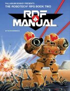 Robotech® RDF Manual Sourcebook, 1987 Edition
