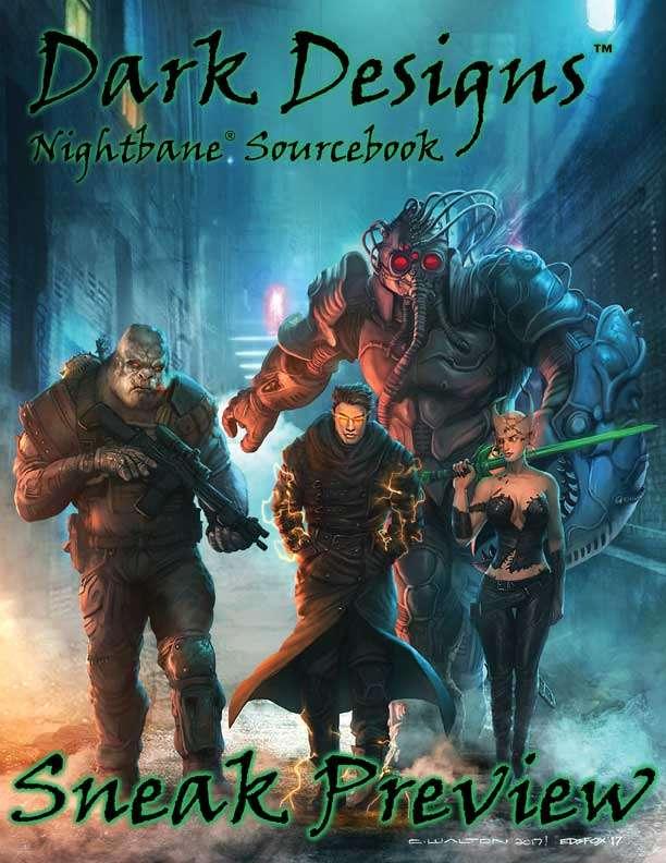 Nightbane® Dark Designs Sneak Preview