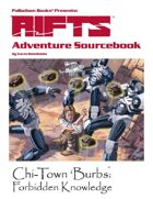 Rifts® Adventure Sourcebook One: Chi-Town 'Burbs™
