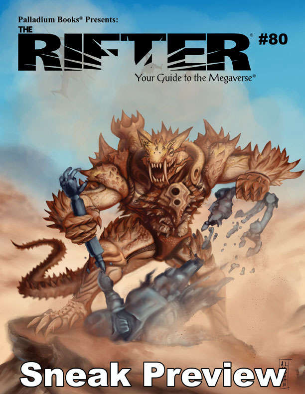 The Rifter® #80 Sneak Preview