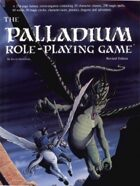 The Palladium Fantasy Role-Playing Game Revised Edition - 1st Edition Rules