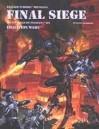 Rifts® Coalition Wars® Book 6: Final Siege