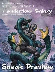 Rifts® Thundercloud Galaxy Sneak Preview