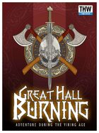 Great Hall Burning
