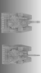 Sci-Fi Titan Battle Tank for 3d printing (STL)
