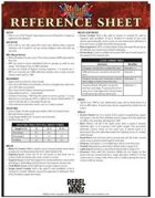 Mighty Armies Quick Reference Sheet