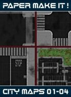 City Map Bundle 01 - 04 [BUNDLE]