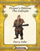[PFRPG] Player's Options: The Infinyte