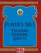 Player's Aid I: Treasure Tracking Sheets
