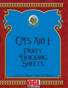 GM's Aid I: Party Tracking Sheets