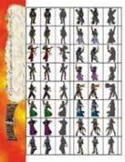Deadlands Figures: Cardstock Cowboys Starter