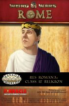 Weird Wars Rome: Res Romana