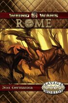 Weird Wars Rome: Nox Germanica