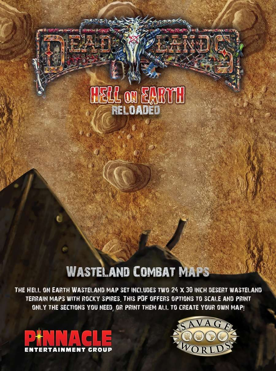 Hell on Earth Reloaded: Wasteland Combat Maps