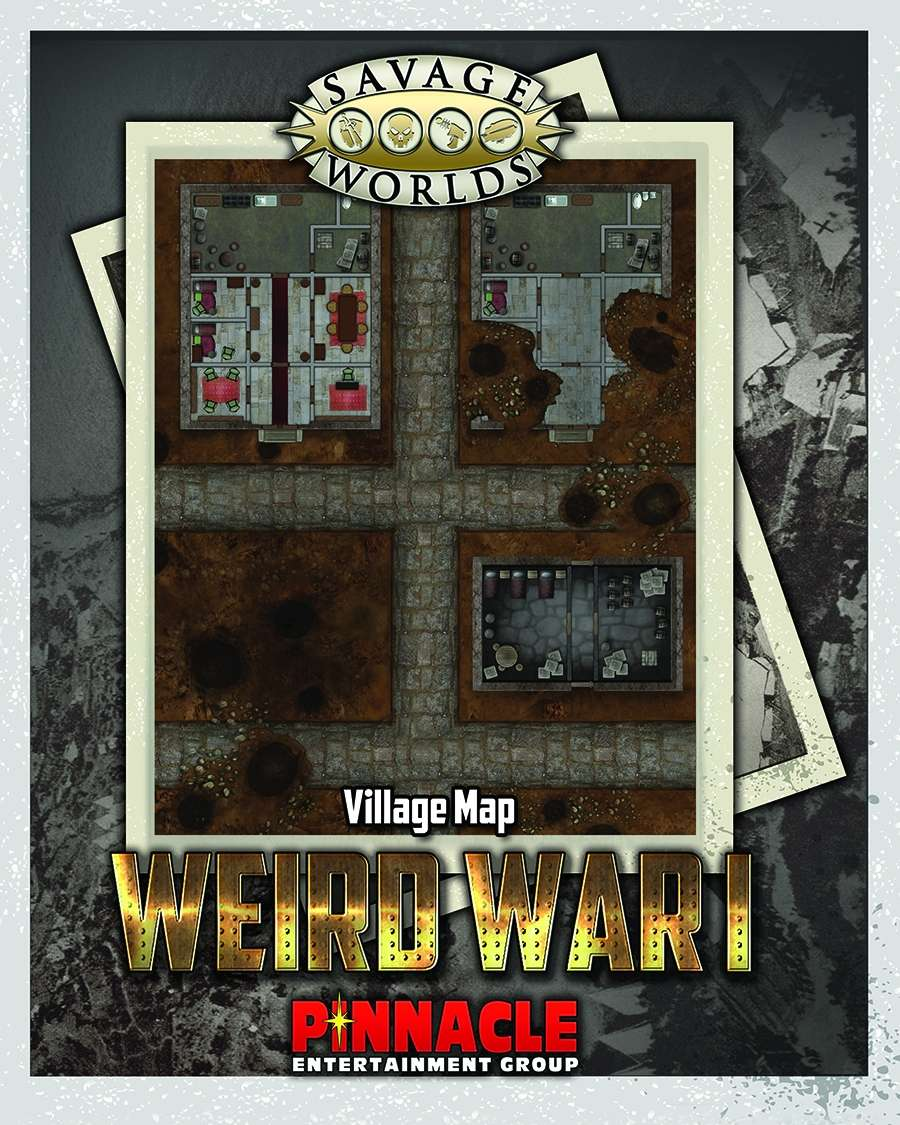 Savage worlds news no smalltalk pinnacle entertainment weird war i village combat map artist aaron acevedo pages 1 price 351 drivethrurpgrpgnow fandeluxe Choice Image