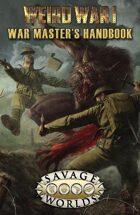 Weird War I: War Master's Handbook