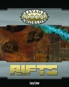 Savage Rifts: Ley Line Combat Map