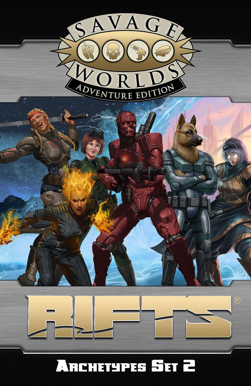 savage rifts  archetypes set 2