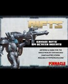Savage Rifts: Customizable Game Master's Screen