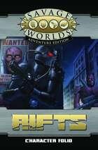 Savage Rifts: Character Folio
