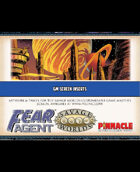Fear Agent: GM Screen Inserts