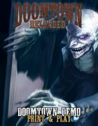 Doomtown Reloaded: Print & Play Demo