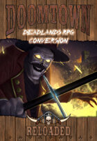 Doomtown Reloaded: RPG Conversion