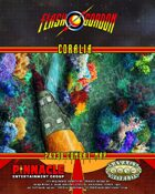 The Savage World of Flash Gordon: Coralia Poster Map