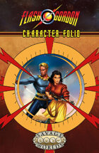 The Savage World of Flash Gordon: Character Folio