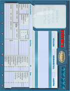 The Last Parsec: Table Tent Character Sheet