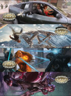 Savage Worlds Adventure Edition: Bookmarks